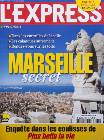 Couverture de l'Express