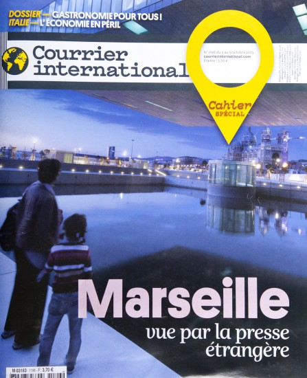 Couverture de Courrier International
