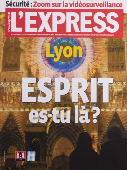 Couverture de l'Express. Lyon