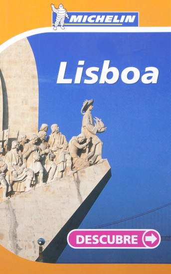 Couverture du guide Michelin Lisboa