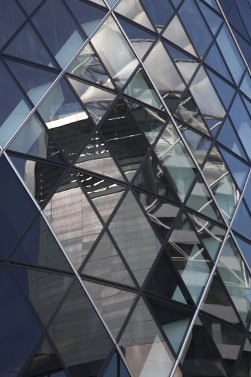 Londres, 30 St Mary Axe, architecte Norman Foster