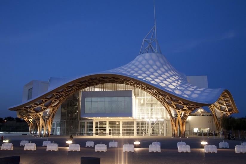 Centre Pompidou-Metz, architecte Shigeru Ban