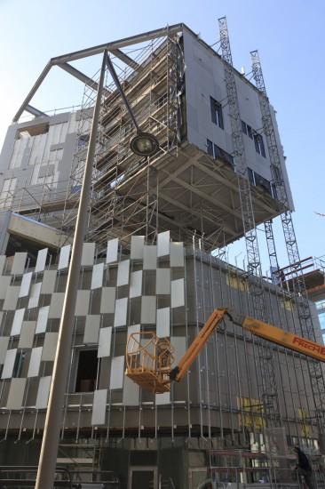 Fond Régional d'Art Contemporain Paca, architecte Kengo Kuma