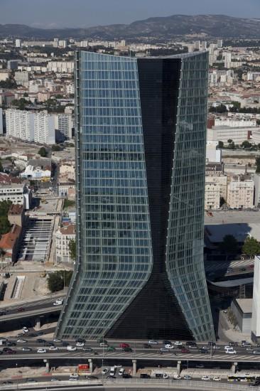 Tour CMA-CGM de l'architecte Zaha Hadid