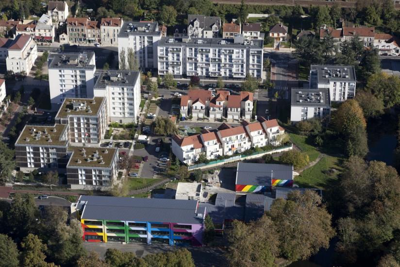 Corbeil-Essonnes, quartier de la Nacelle