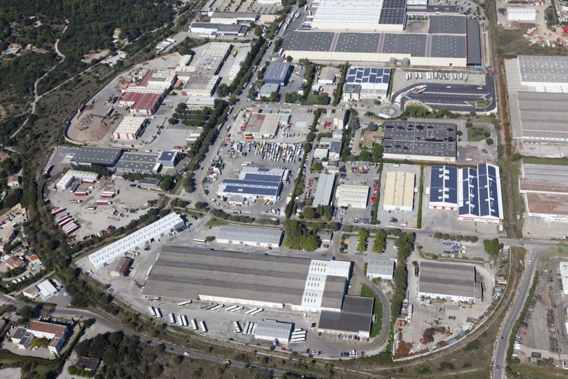 Zone industrielle de Nimes