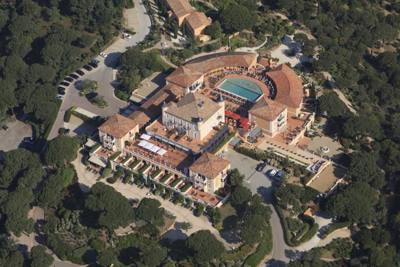 Saint-Tropez, château de la Messardière, hôtel cinq étoiles