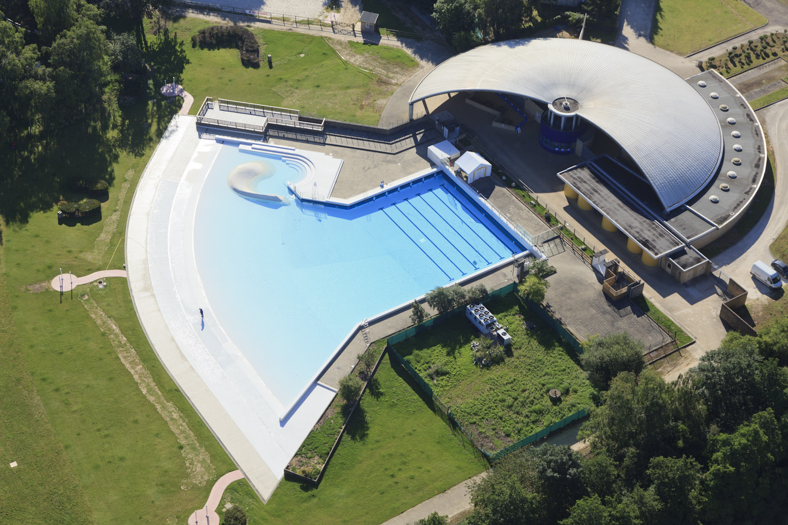 Vue a rienne loisirs matthieu colin photographe for Piscine yvelines