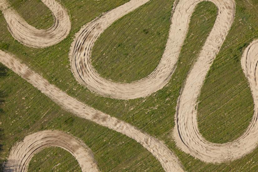 Terrain de quad, Luberon