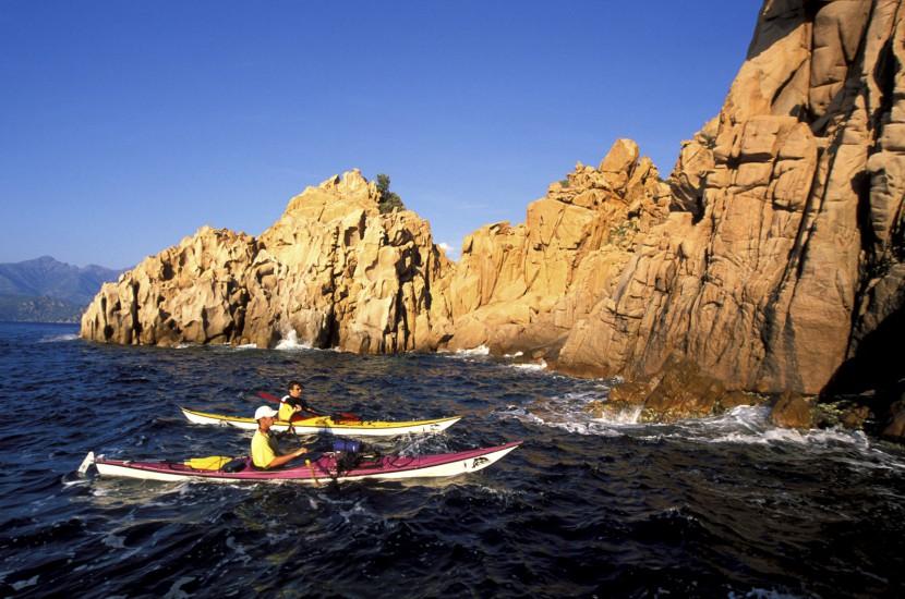CORSE - Les calanches en kayak