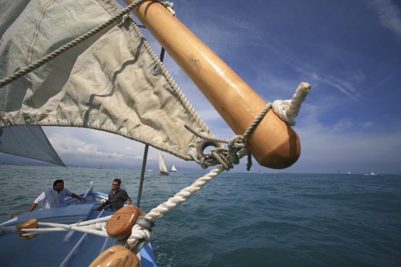 Vieux gréements au large d'Antibes
