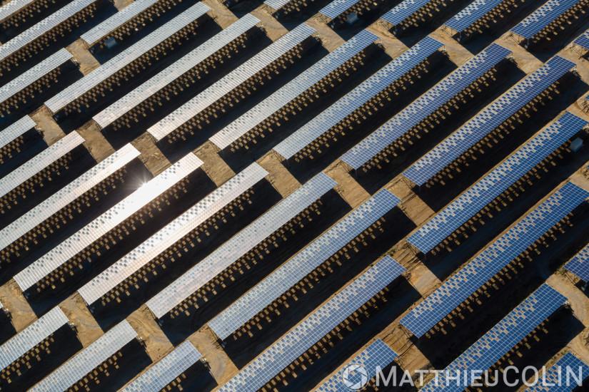 Toiture photovoltaïque sur des serres pour la culture