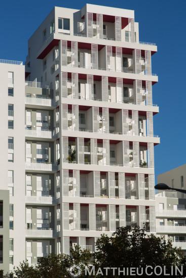 Marseille, 2 eme arrondissement, Grand Port Maritime de Marseille ou GPMM, quartier euromediterranee ou euromed