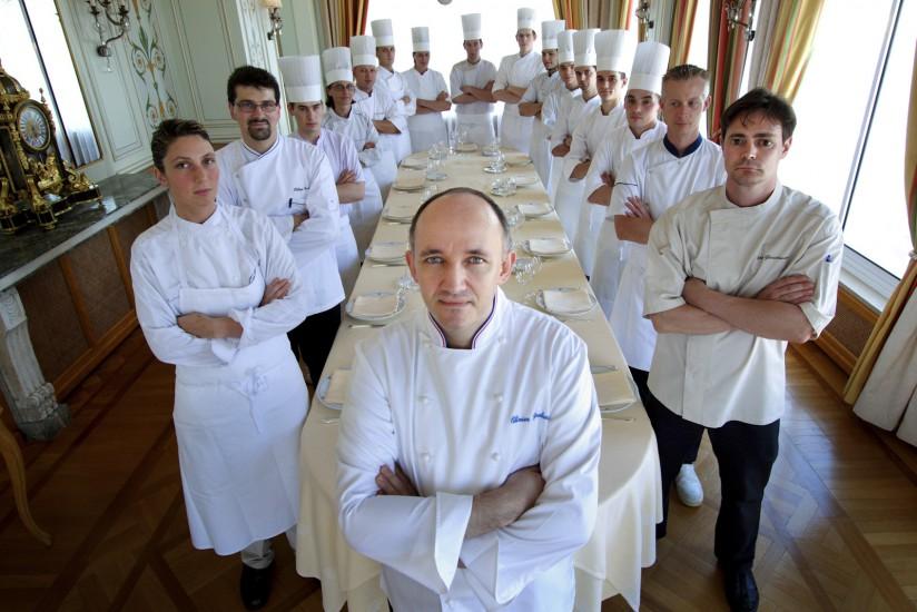 Photo de groupe restaurant
