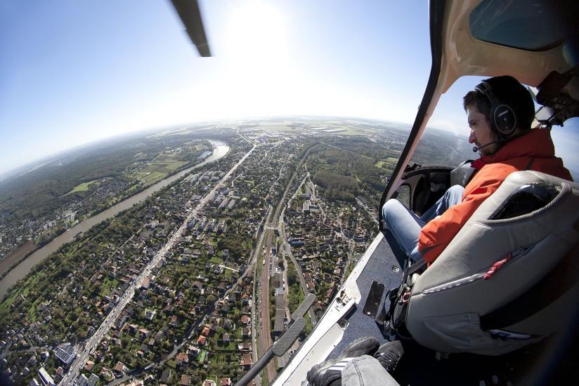 FRANCE - Région Parisienne - Corbeil-Essonnes. Vues aériennes de la ville dans la cadre du Plan de Rénovation Urbaine des quartiers des Tarterets, Montconseil, la Nacelle et la Papeterie (73 photos).  Voir le reportage sur Divergence-Images