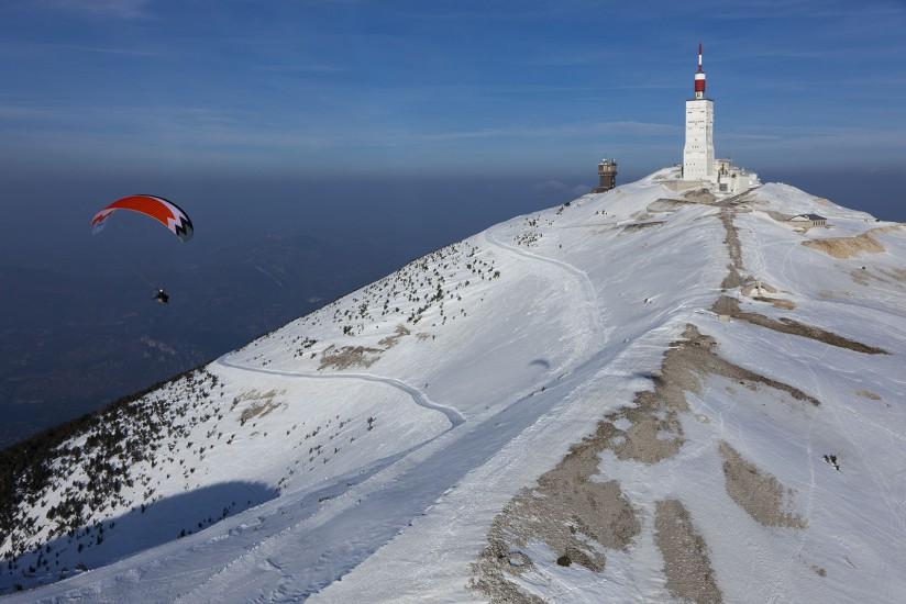 Photos aériennes du Mont Ventoux