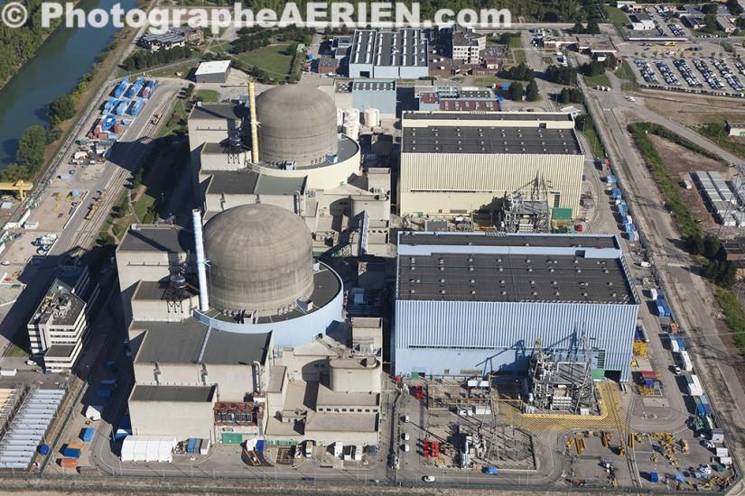 Centrale nucléaire de Saint-Alban.