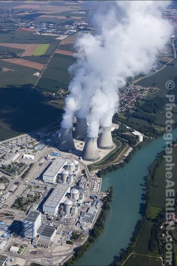 Centrale nucléaire du Bugey.