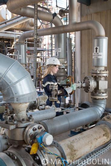 Site pétrochimique, raffinerie