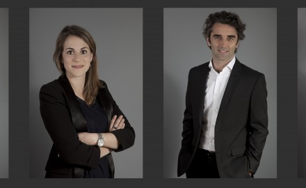 portrait corporate éclairage studio mobile fond gris