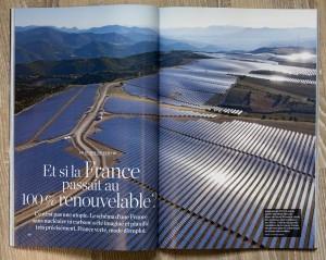 National Geographic France - Centrale solaire Mees -Vue aérienne
