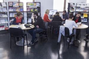 France, Bouches-du-Rhône, Marseille, CIO, centre d'information et d'orientation Marseille Est