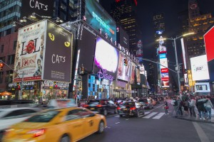 Etats-Unis, New York, Manhattan, Times Square