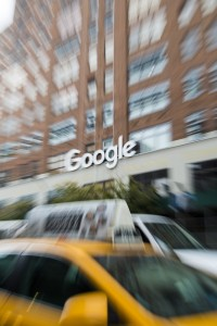 Etats-Unis, New York, Manhattan, 76 9th Ave, siège de Google à New York dans le quartier de Chelsea