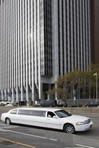 Etats-Unis, New York, Manhattan, limousine