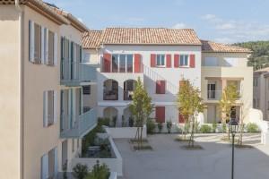 France, Var (83), Carnoules, Le clos des Vignes, Arcade