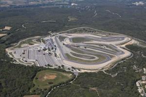 France, Gard (30), circuit auto moto de Ledenon, CD Sport (vue aérienne)