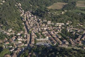 France, Bouches-du-Rhône (13), Rognes (vue aérienne)
