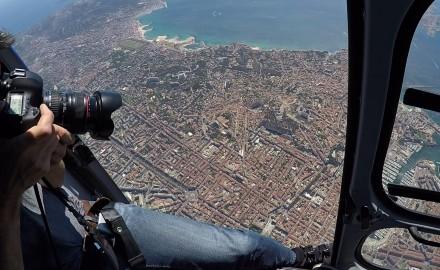 Marseille en hélicoptère
