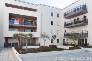 France, Var (83), Le lavandou, Les toiles blanches, programme immobilier du groupe Arcade