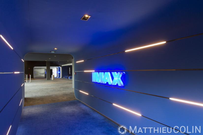 Salle Imax Laser cinéma Pathé Marseille Plan de Campagne