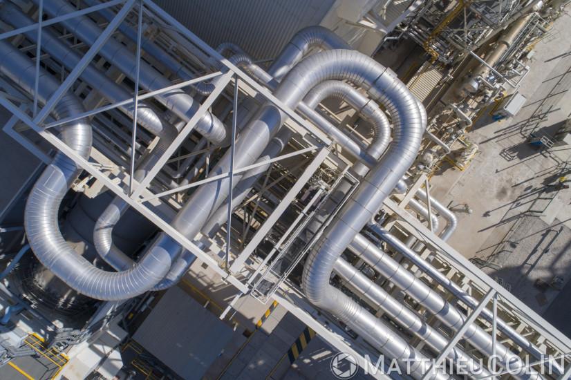 Centrale Thermique (vue aérienne)