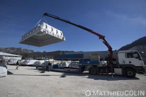 France, Bouches du Rhône (13), Gemenos, PID Piscine, Polyester Innovation Développement, fabrication de piscine Escale