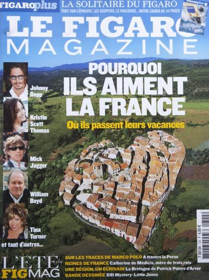 Couverture du Figaro Magazine