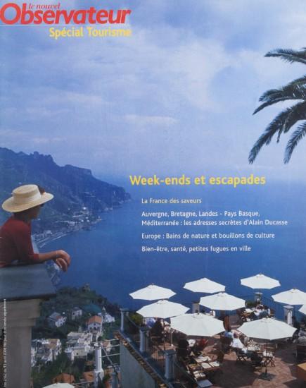 Couverture du Nouvel Observateur Spécial Tourisme