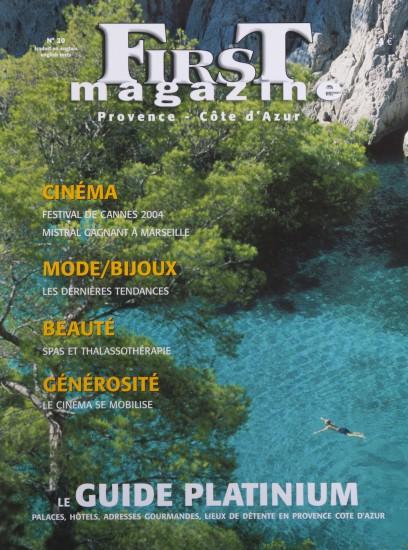 Couverture de First Magazine