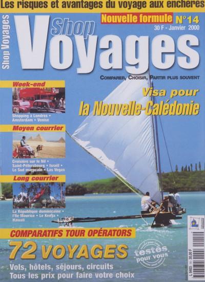 Couverture du magazine Shop Voyages