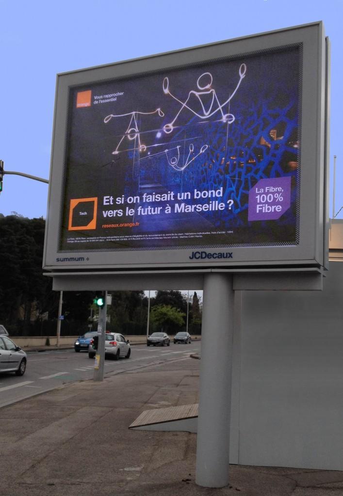 Campagne Orange Fibre 2015 - Affichage 4x3