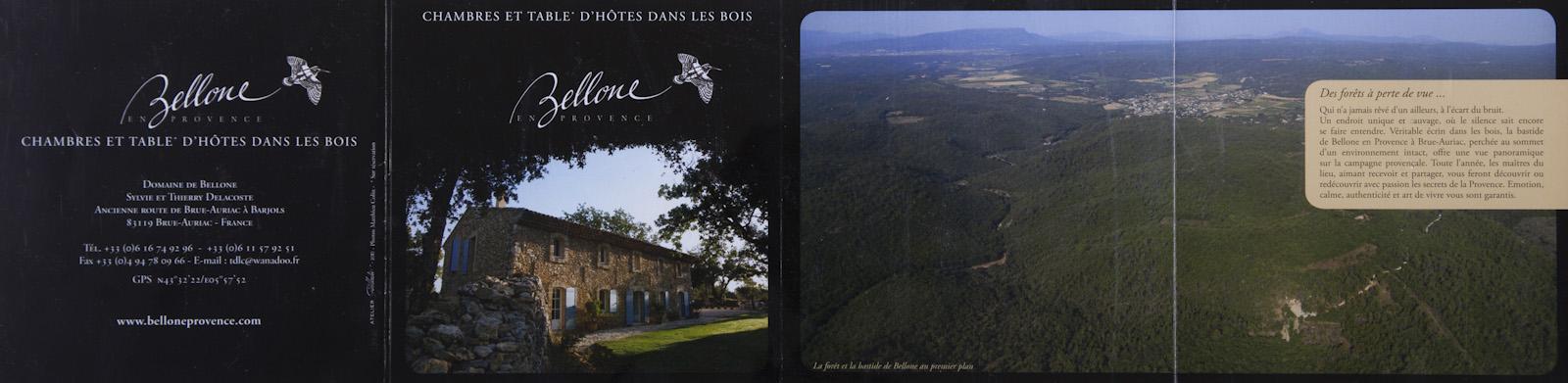 Maison d'hôte, Domaine de Bellone