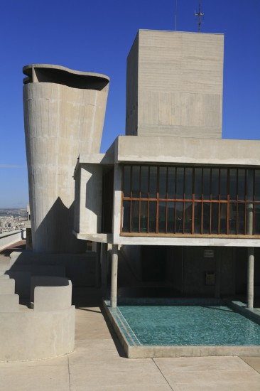 Cité radieuse de Marseille, architecte Le Corbusier