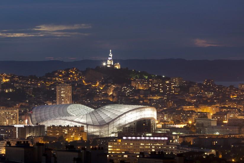 Le stade Velodrome de Marseille