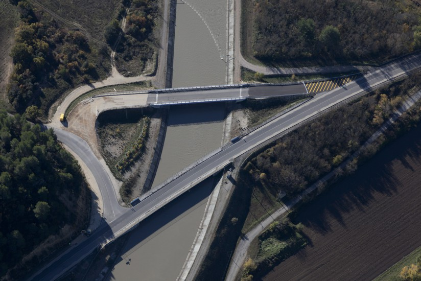 Peyrolles-en-Provence, pont Iter