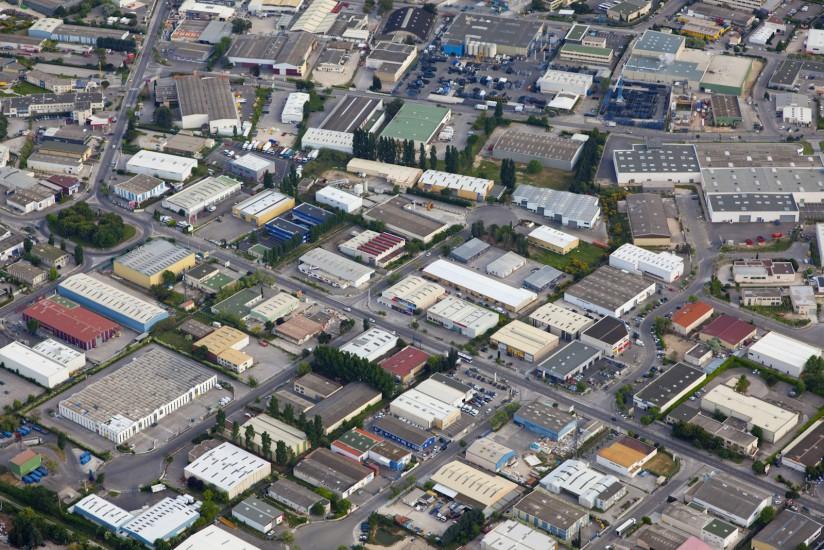 Zone commerciale et industrielle des Paluds, Aubagne