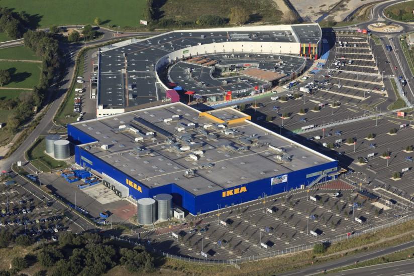 Le Pontet, centre commercial Buld'air