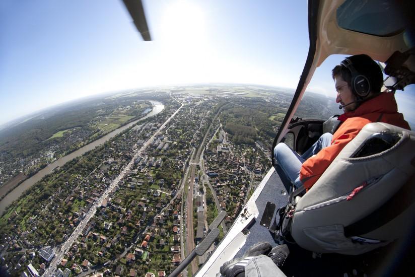 Hélicoptère Ecureuil AS355