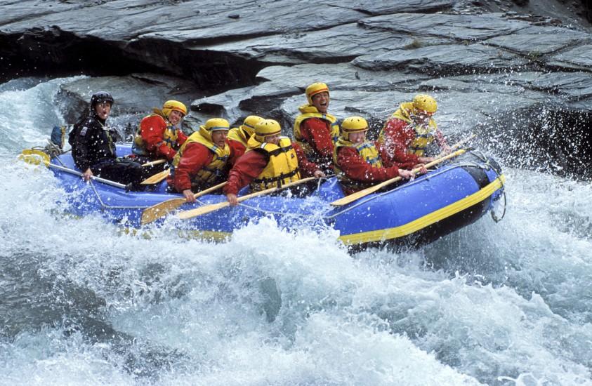 Rafting en Nouvelle Zélande